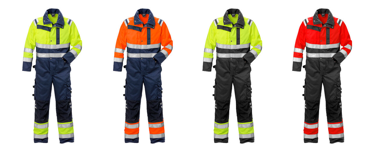 new high vis coverall cl 3 8026 PLU