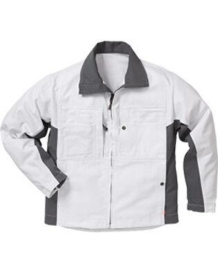 Veste en coton 458 BM en blanc pour peintres et macons