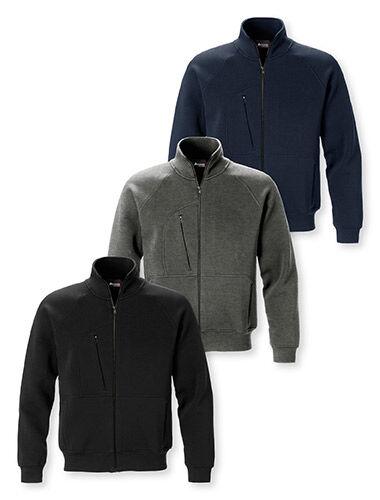 sweat-shirt zip complete poches avec zip