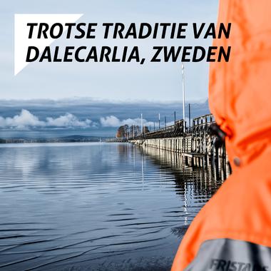 De trotse traditie van Dalecarlia, Zweden. Dat zijn Snikki gereedschapsriemen