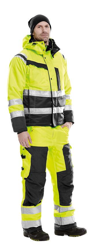 Fristads hoge zichtbaarheid werkkleding winter