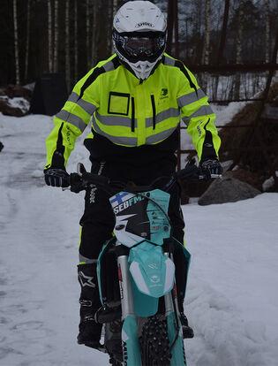 Leijonauros Sebastian Westberg – Freestyle motocross